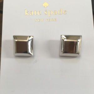 "Kate Spade ""Big Dipper"" Silver earrings NWT"